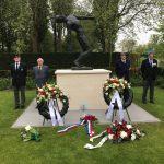 Herdenking gevallenen bij Essenhof op 7 mei jl.